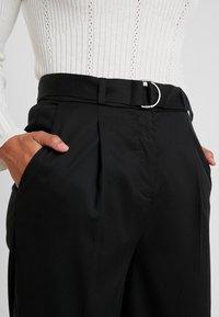 Esprit Collection Petite - CULOTTE - Kalhoty - black - 5
