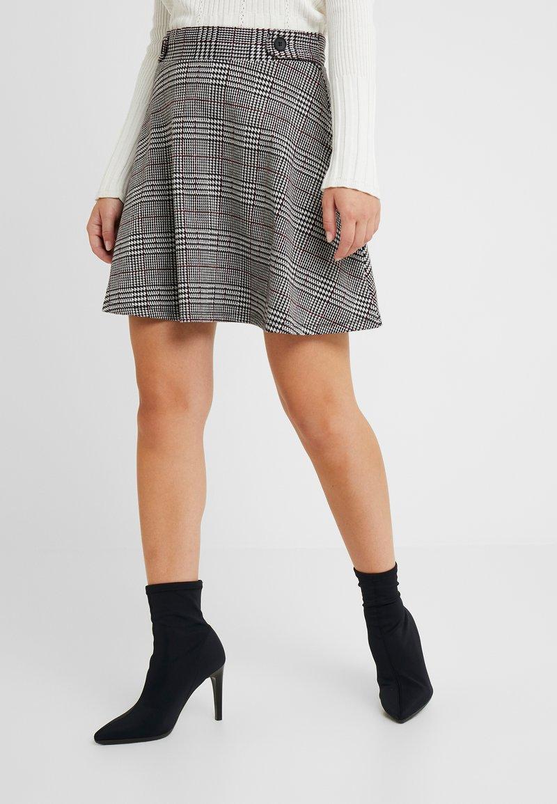 Esprit Petite - SKIRT - A-line skirt - garnet red
