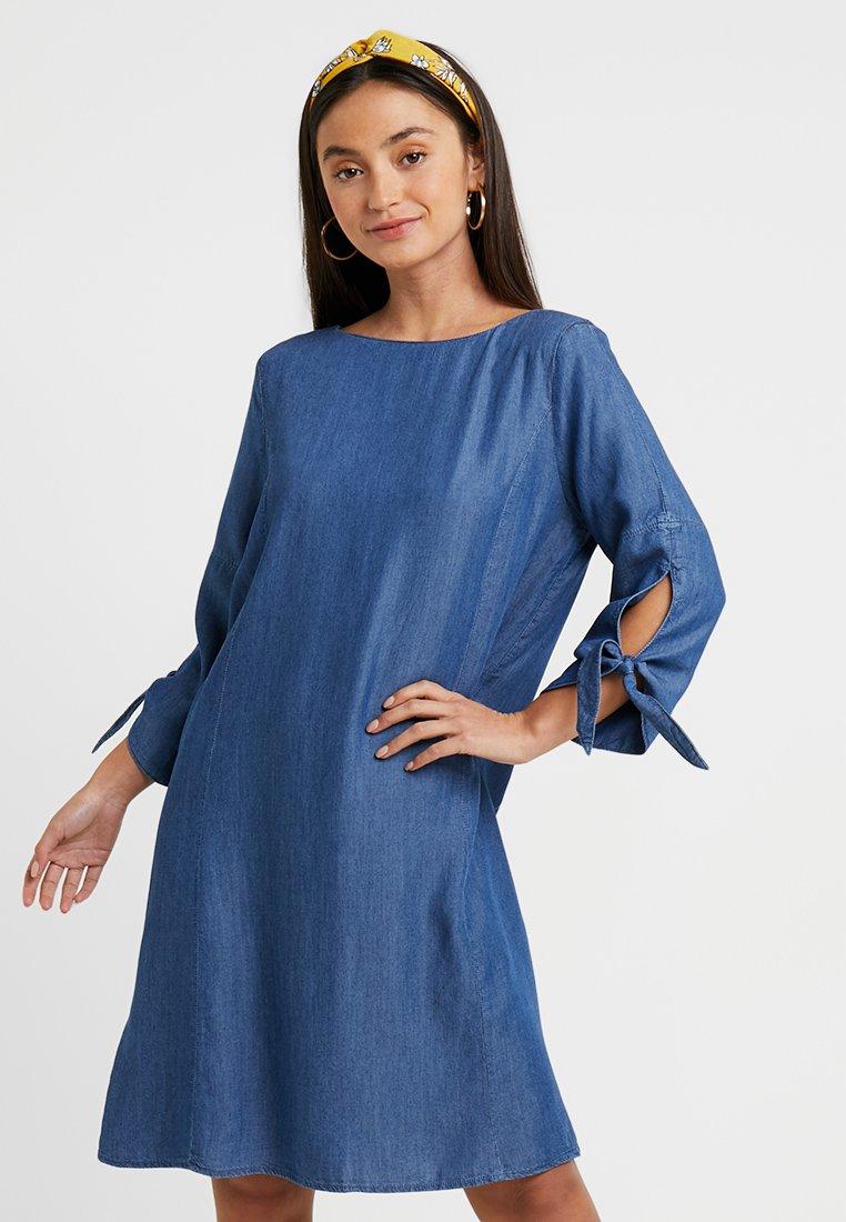Esprit Petite - DRESS - Spijkerjurk - blue medium wash