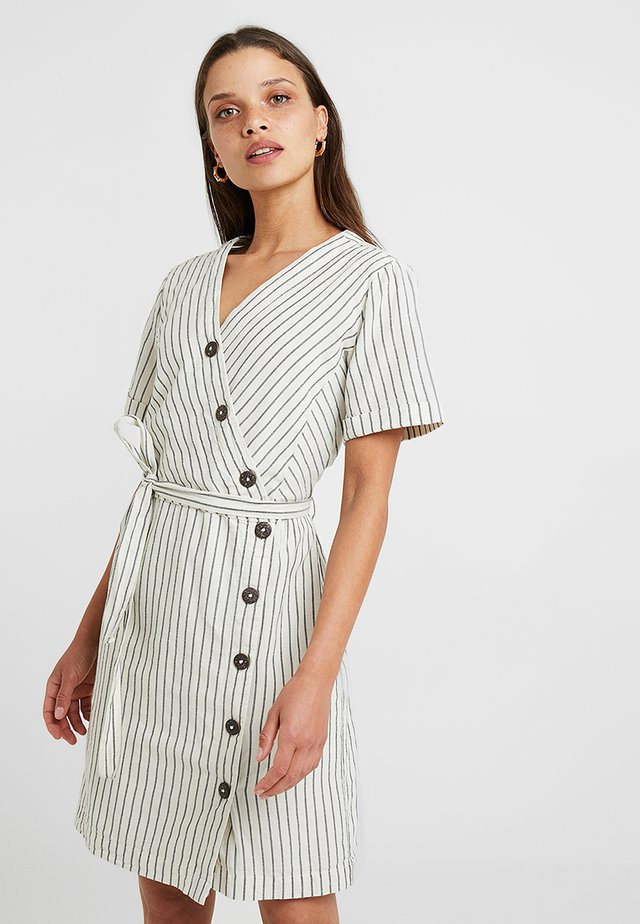 TEXTURE - Shirt dress - off white