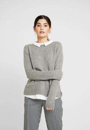 Pullover - medium grey