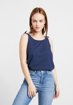 TOP KNOT - Topper - navy