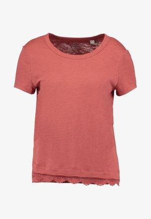 TEE - T-shirt z nadrukiem - blush