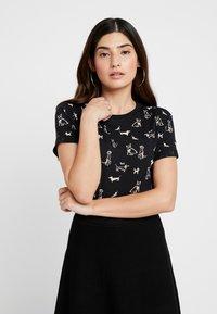 Esprit Petite - CORE - T-shirt print - black - 0