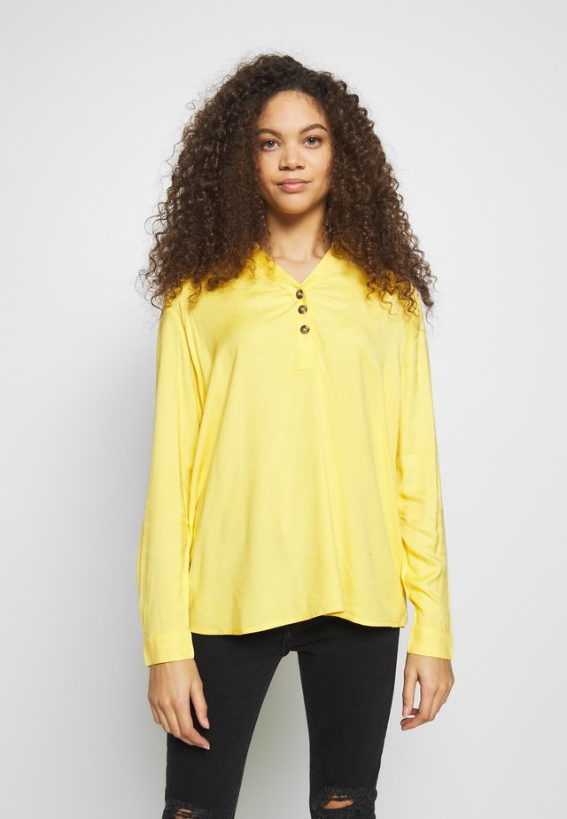 BLOUSE - Bluzka - yellow