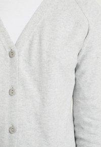Esprit Petite - CARDIGAN - Cardigan - medium grey - 5