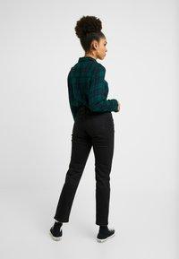 Esprit Petite - Straight leg jeans - black dark wash - 3