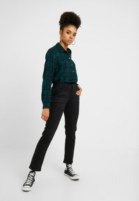 Esprit Petite - Straight leg jeans - black dark wash - 2