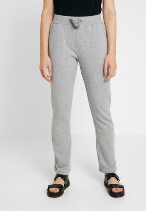 OLIVIA PANTS - Verryttelyhousut - mottled light grey