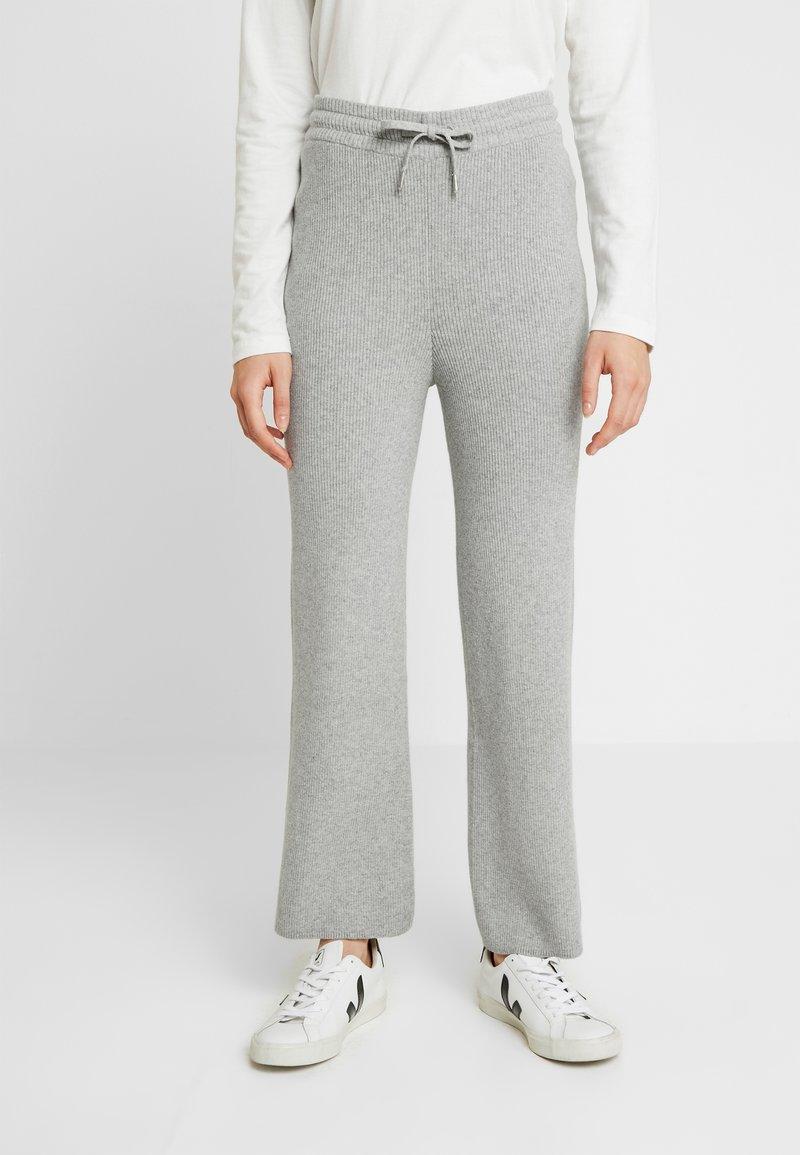 esmé studios - HARPER PANTS - Pantalon de survêtement - grey melange