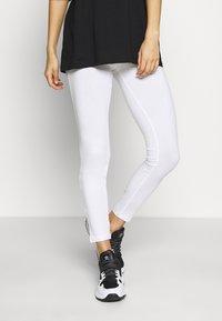 esmé studios - ILSE - Leggings - Trousers - white - 0