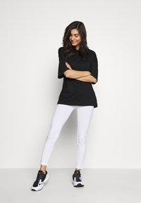 esmé studios - ILSE - Leggings - Trousers - white - 1