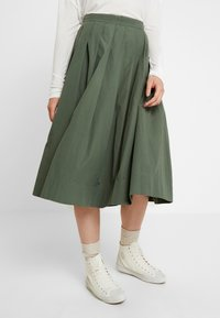 esmé studios - TINE SKIRT - Plisovaná sukně - thyme - 2