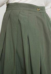 esmé studios - TINE SKIRT - Plisovaná sukně - thyme - 5