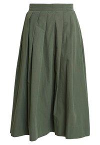 esmé studios - TINE SKIRT - Plisovaná sukně - thyme - 0