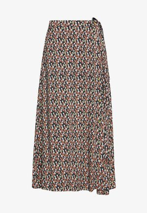 BELLA  - A-line skirt - darkk sapphire