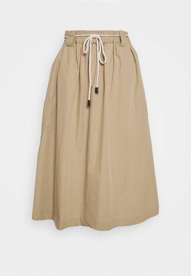 POPPY SKIRT - A-line skirt - white paper