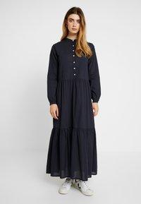 esmé studios - KATJA DRESS - Robe longue - dark blue - 0