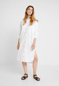 esmé studios - INGE DRESS - Paitamekko - white - 2