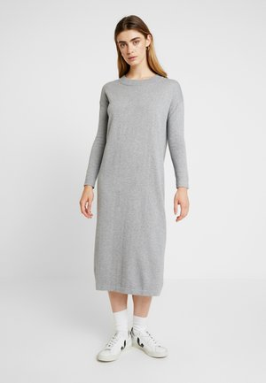 KAREN DRESS - Maksimekko - grey melange