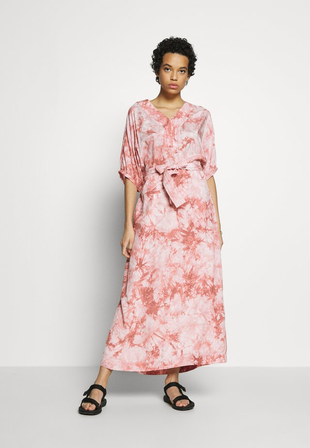 ALLISON BATIK DRESS - Maxikjoler - rose batil