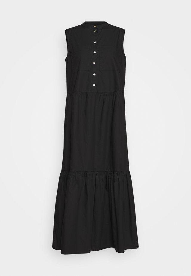 KATJA SLEEVELSS MAXI DRESS - Długa sukienka - black
