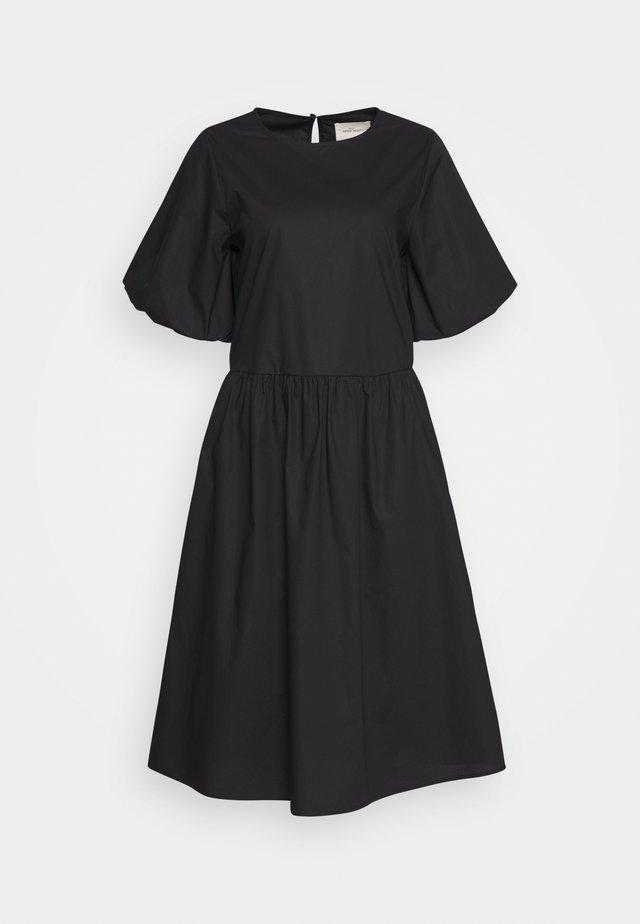 JANA MIDI DRESS - Korte jurk - black