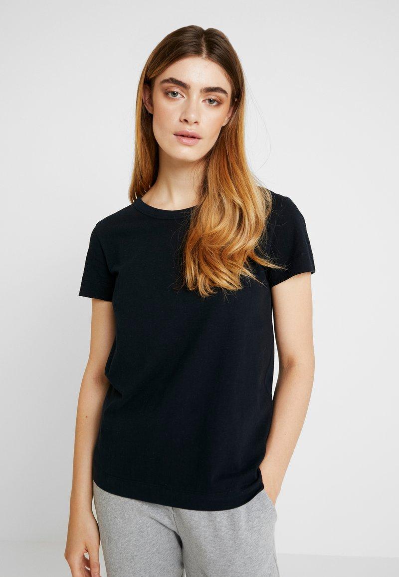 esmé studios - SIGNE - T-shirts basic - black