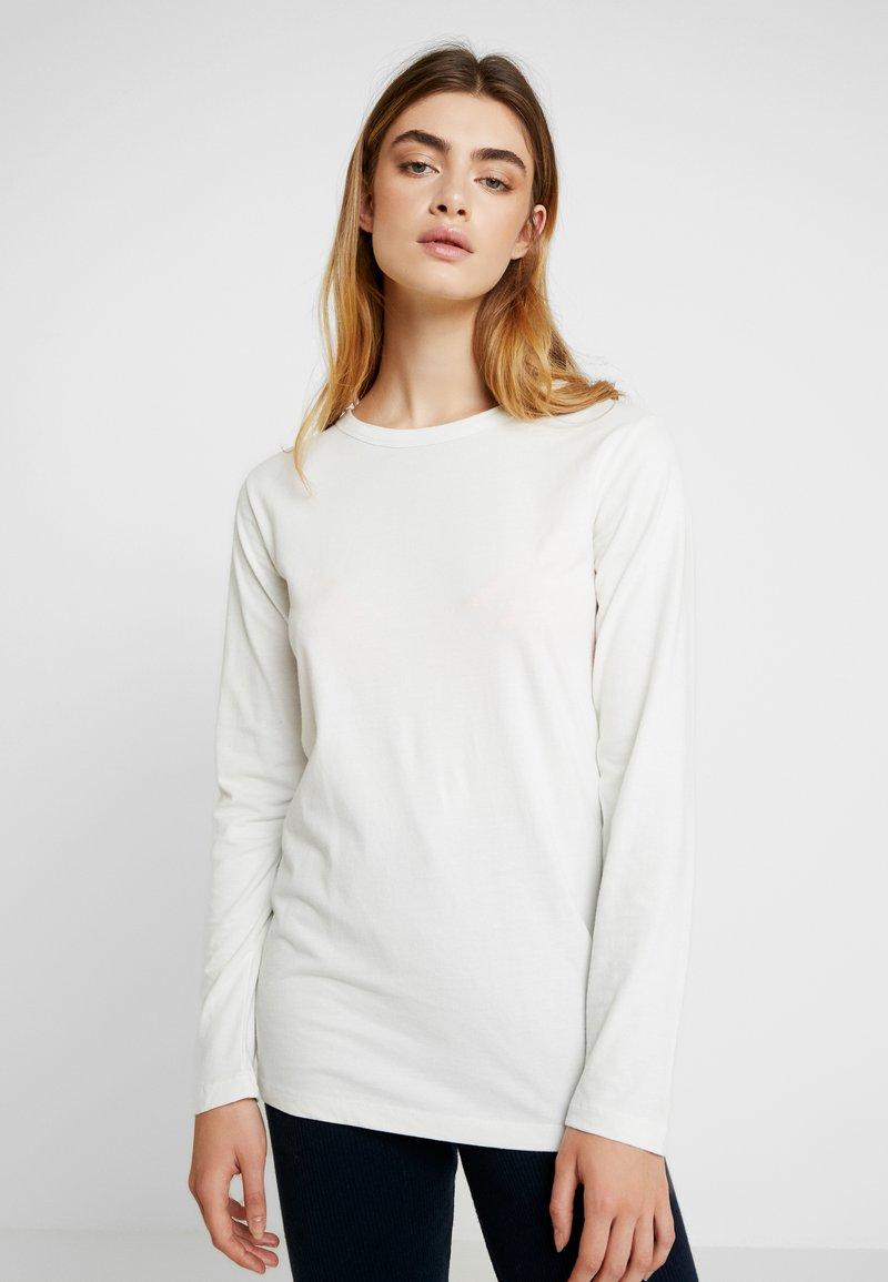 esmé studios - MAJA - Langarmshirt - white