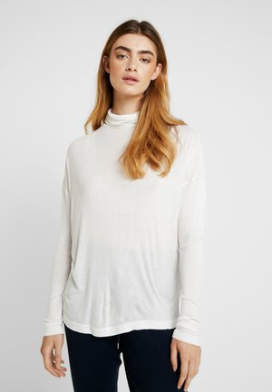 METTE ROLLNECK - T-shirt à manches longues - snow white