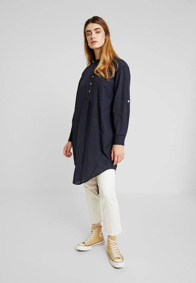 PERNILLE OVERSIZE - Bluse - dark blue