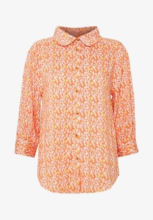 ZOEY BLOUSE - Button-down blouse - carnelian