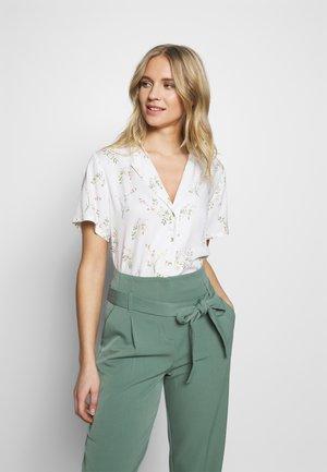 CORDELIA - Button-down blouse - white