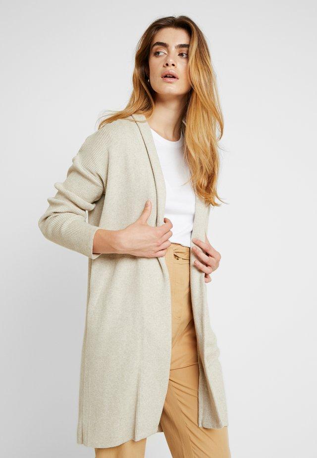ELISE CARDIGAN - Cardigan - mottled beige