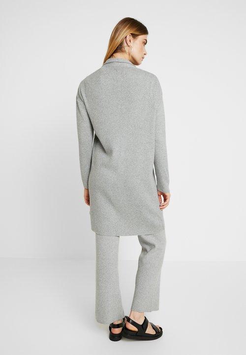 dobry esmé studios ELISE CARDIGAN - Kardigan - mottled light grey Odzież Damska TSDA-RO8