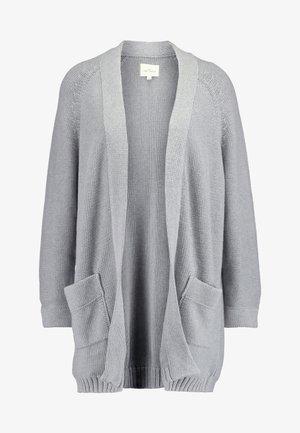 FRIDA CARDIGAN - Cardigan - grey melange