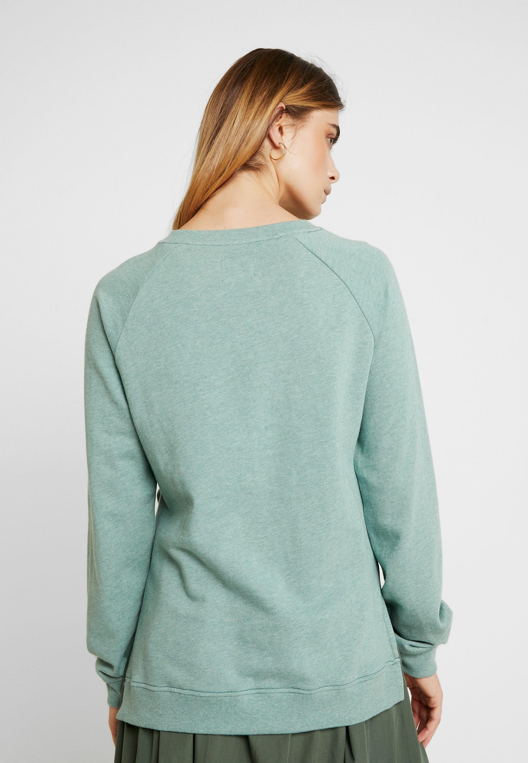 Green RaglanSweatshirt Esmé Sofie Mottled Studios Nw8Omyvn0