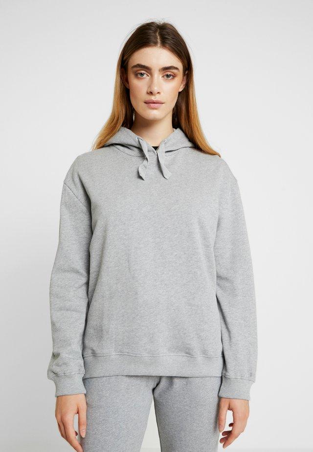 SJANNE - Kapuzenpullover - light grey melange