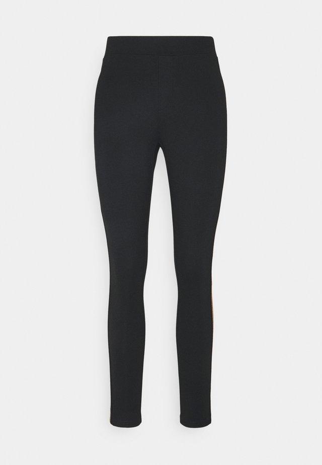 TREGGING PUNTO TAPE - Legging - black cinnomon