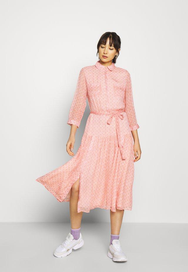 DRESS CANTALOUPE PRINT  - Robe chemise - multi-coloured
