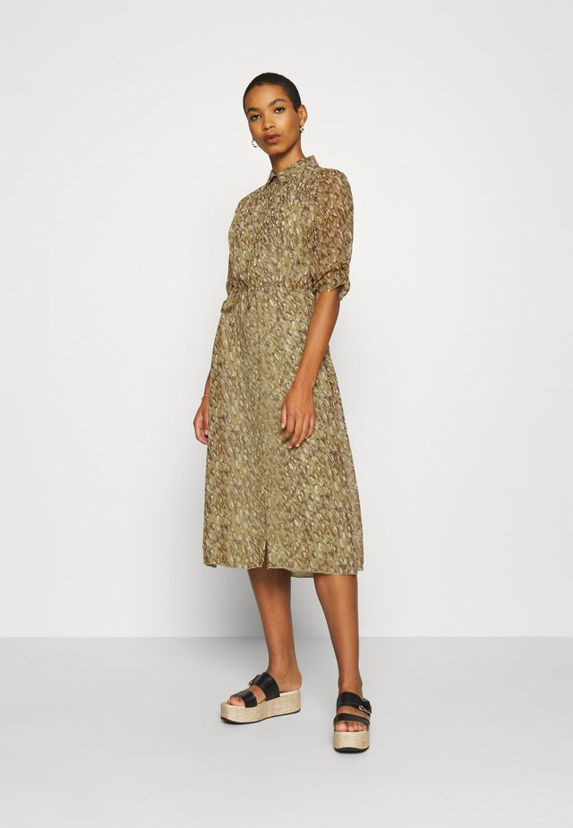 DRESS LONG SHELL - Robe chemise - multi-coloured