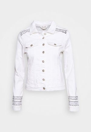 JACKET TAPES - Denim jacket - off white
