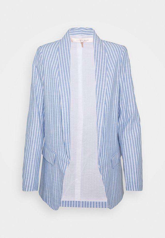 STRIPED  - Blazer - blue