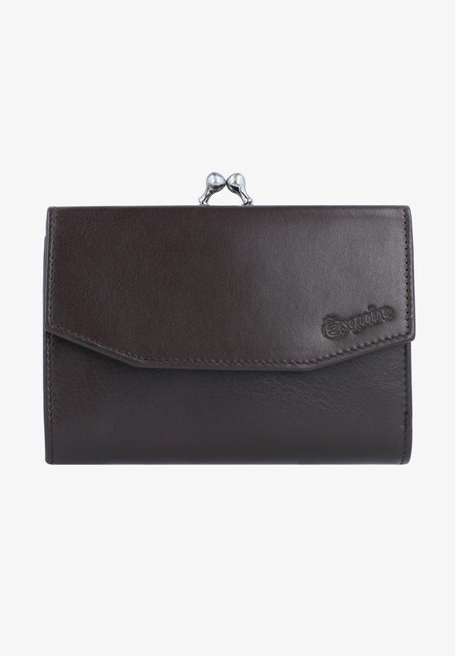 NEW SILK  - Wallet - braun