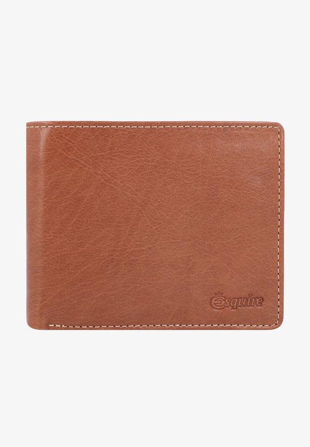 DENVER RFID - Wallet - cognac