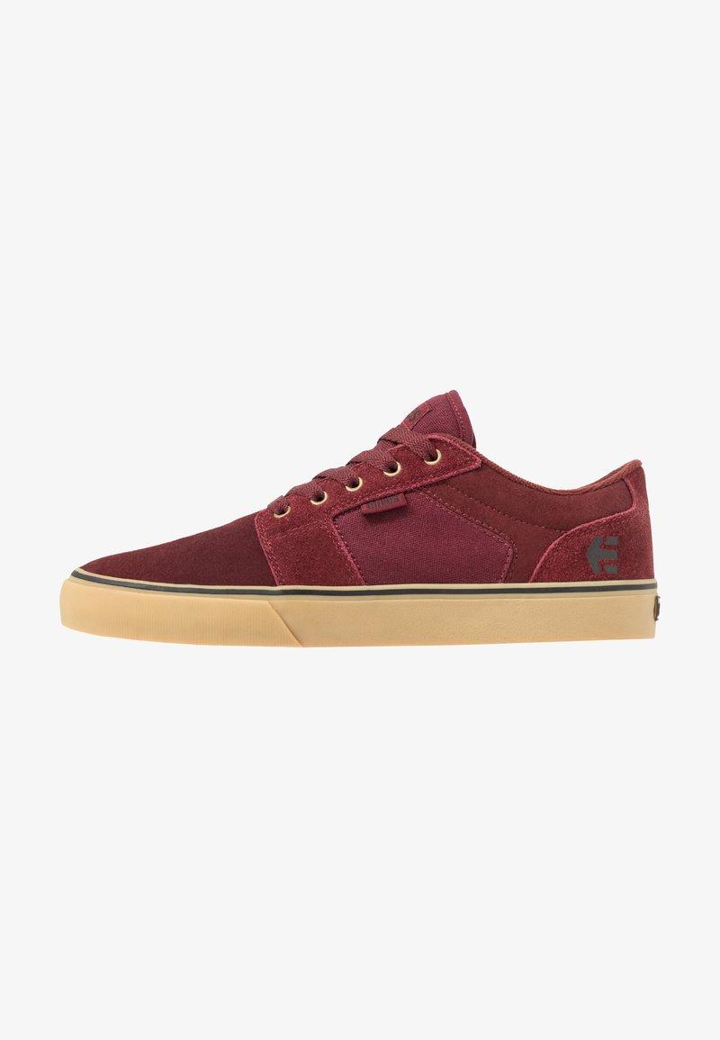 Etnies - BARGE - Skateschoenen - burgundy/tan