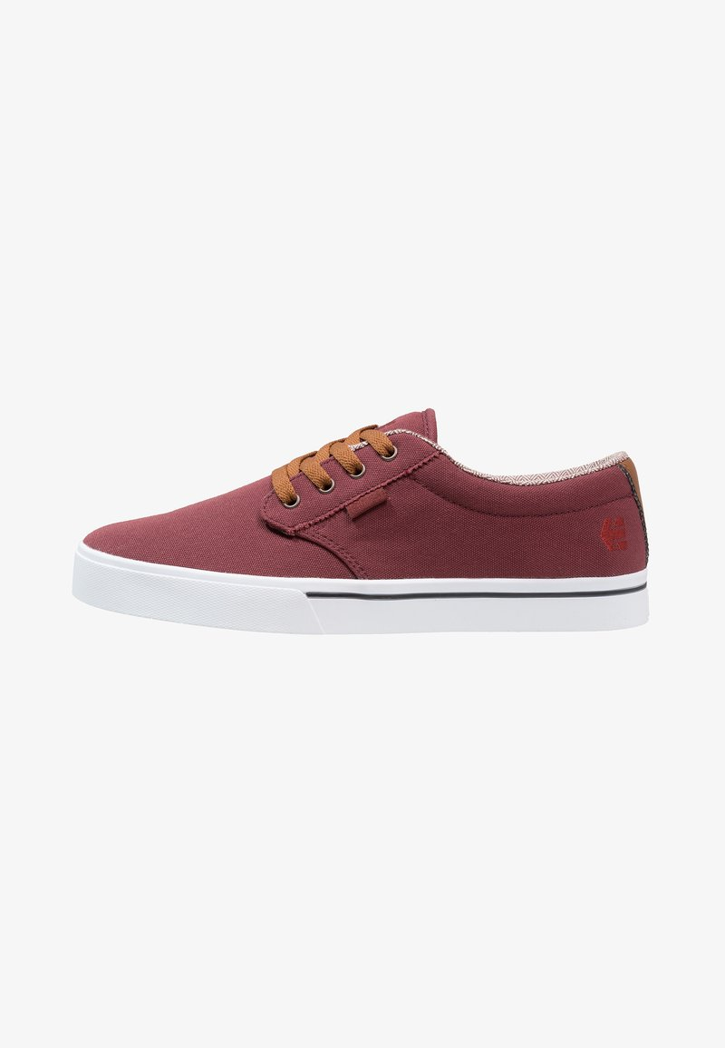 Etnies - JAMESON ECO - Skate shoes - burgundy/tan