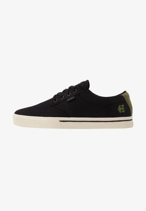 JAMESON ECO - Obuwie deskorolkowe - black/green/gold