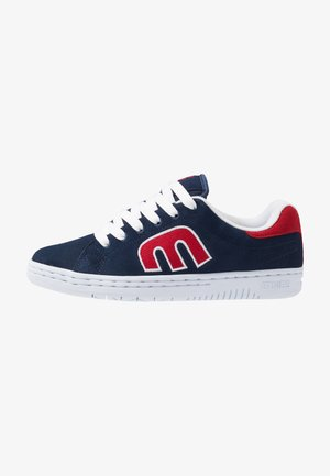 CALLI-CUT - Obuwie deskorolkowe - navy/red/white