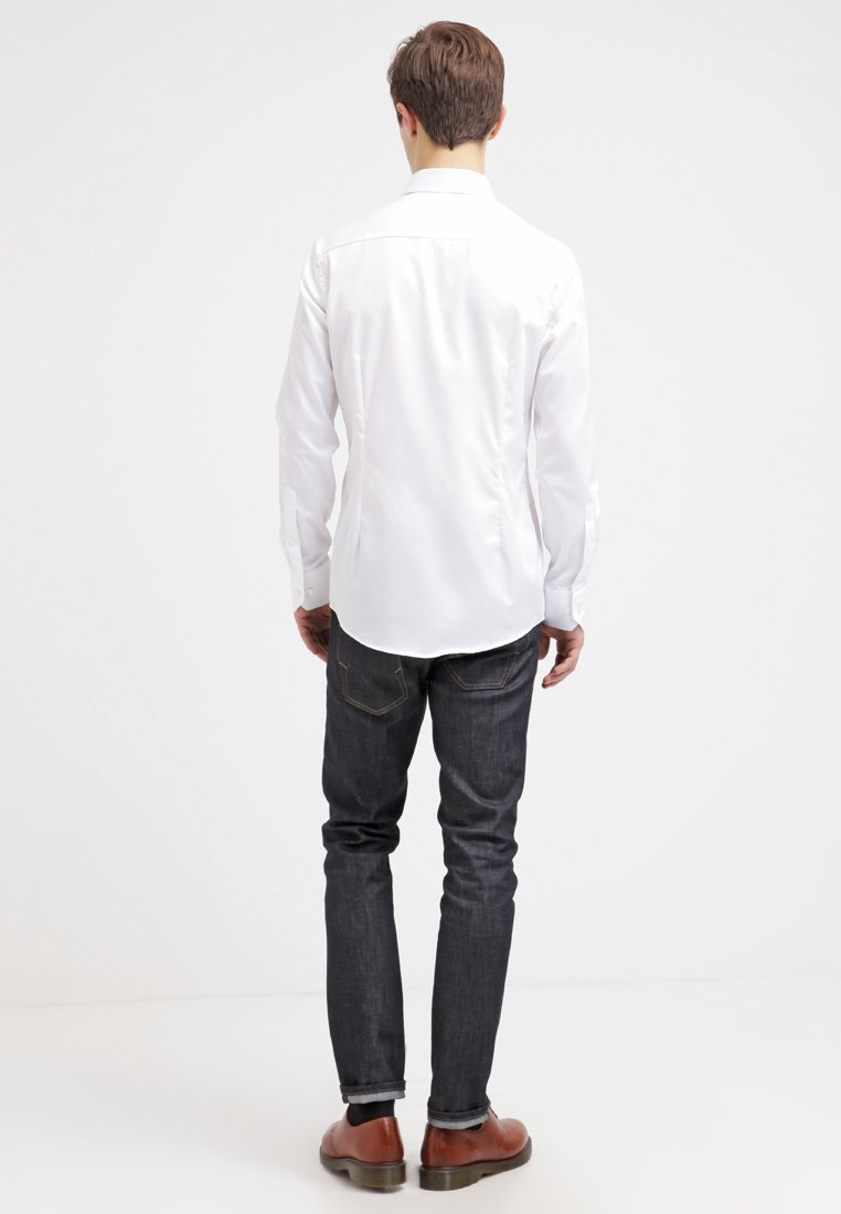 Eton Slim Fit - Kostymskjorta White